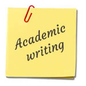 Academic writing report sample